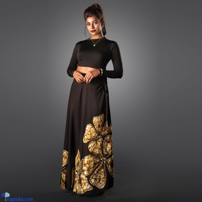 Amazing Araliaya - Elegant Black Wrap Online at Kapruka | Product# clothing01892