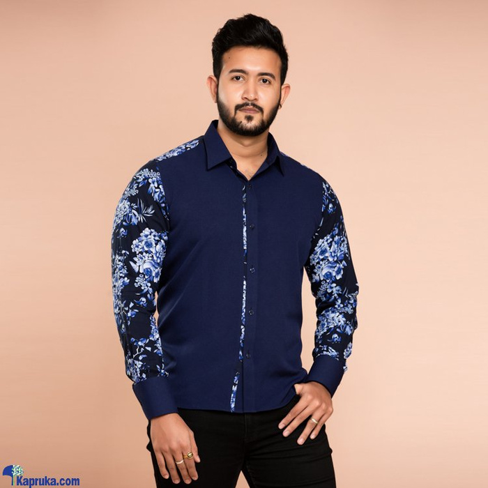 Gents Shirt With Floral Printed Panels - CH 025 Online at Kapruka | Product# clothing01911