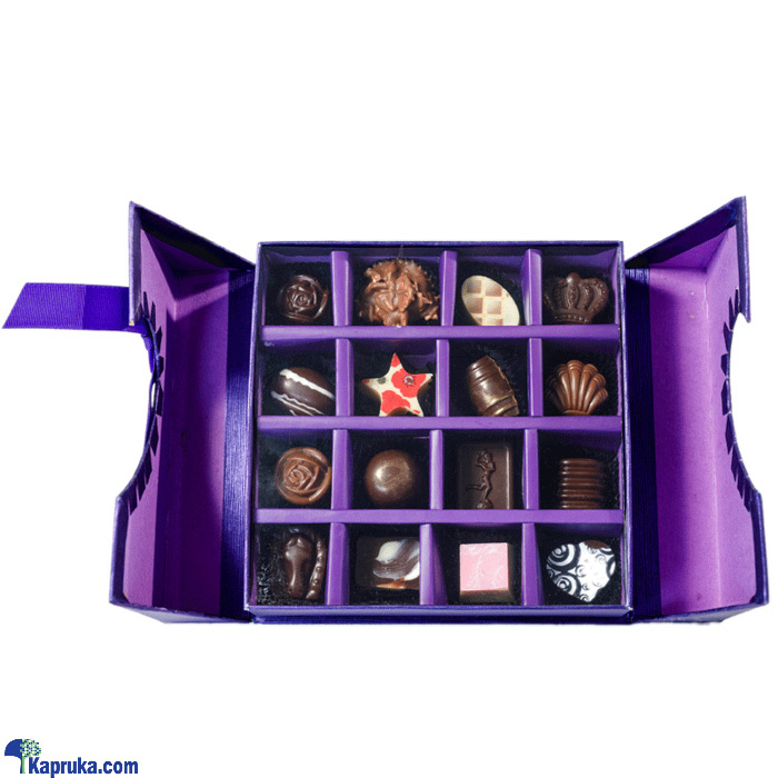 16 Piece Chocolate Blue Square Box (GMC) Online at Kapruka | Product# chocolates001067