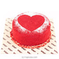Java `pure Love` Red Velvet Cake
