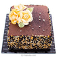 Yellow Blooms Chocolate Cake