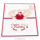 Valentine 3D Popup Greeting Card