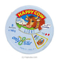 Happy Cow Cheese Low Fat Round Box (140g)