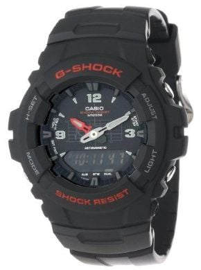 Casio Men`s G100-1BV G-Shock Classic Ana-Digi Watch at Kapruka