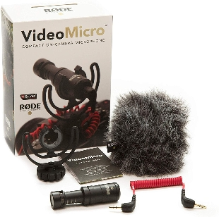 Rode VideoMicro Compact On-Camera Microp.. at Kapruka Online for specialGifts