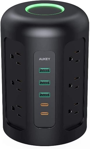 AUKEY Power Strip Tower, Surge Protector.. at Kapruka Online for specialGifts