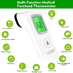 Forehead Thermometer for Fever, Digital .. at Kapruka Online for specialGifts