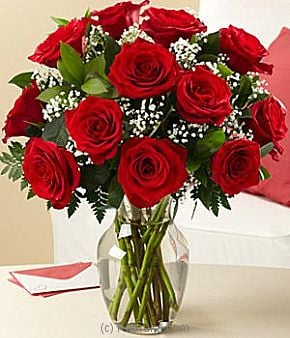 Long Stem Red Roses at Kapruka Online for intgift
