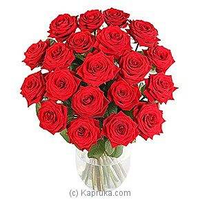 20 Luxury Red Roses at Kapruka Online for intgift