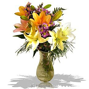 Just Flowers at Kapruka Online for intgift