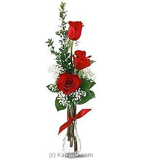 3 Red Roses at Kapruka Online for intgift