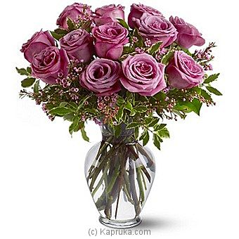 A Dozen Lavender Roses at Kapruka Online for intgift