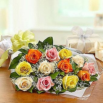 One Dozen Rose Presentation Bouquet at Kapruka Online for intgift
