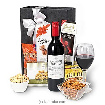 Red Wine Gift Box at Kapruka Online for intgift