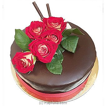 Rosy Relish Romance Cake at Kapruka Online for intgift