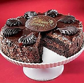 Chocolate Mousse Torte Happy Birthday Cake Only Delivered In USA