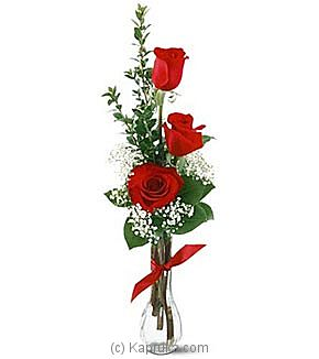 3 Red Roses - Kapruka Product intGift00428