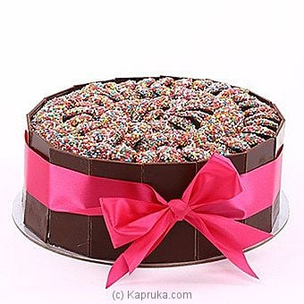Choc Sparkle Surprise Cake - Kapruka Product intGift00481