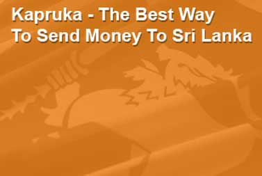 Money Transfer And Gifts To Sri Lanka