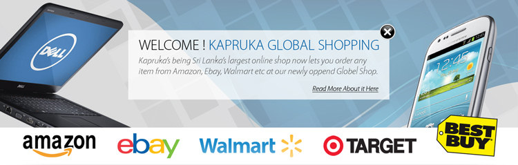 Global Shopping Services at Kapruka.com