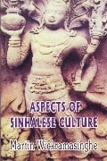 Aspects Of Sinhalese Culture at Kapruka Online for books