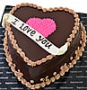 To My Heart Chocolate Cake at Kapruka Online