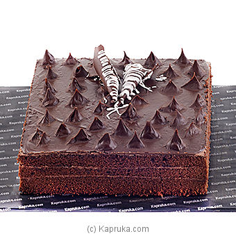 Kapruka 3 Layer Chocolate Cake - 3 Lbs at Kapruka Online for cakes