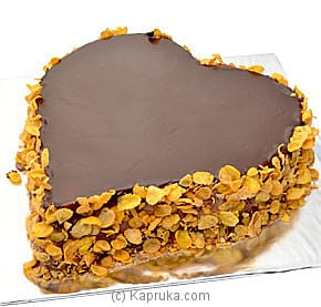 Chocolate Heart Cake - 3lb at Kapruka Online for cakes