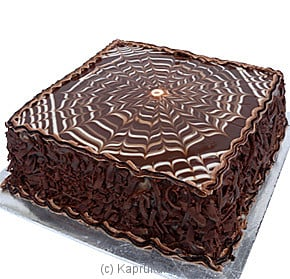 Dark Delight  Fudge Cake - 2 lbs at Kapruka Online for cakes