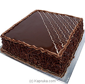 Dark Haven Fudge Cake - 2 lbs at Kapruka Online for cakes