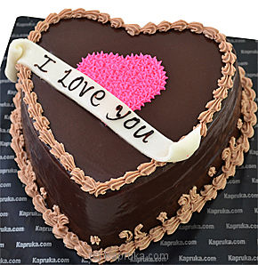 To My Heart Chocolate Cake at Kapruka Online for cakes