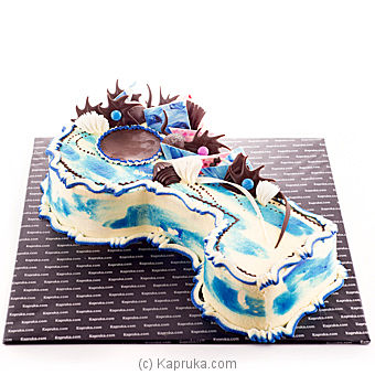 Key Birthday Cake-Blueat Kapruka Online forcakes