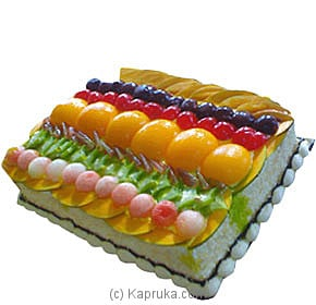 Tropical Fruit Cake By Topaz at Kapruka Online forcakes