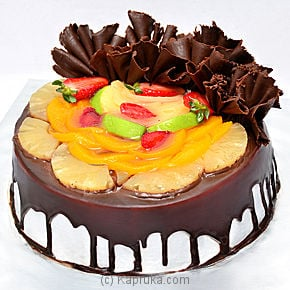 Chocolate Fruit Gateau at Kapruka Online for cakes