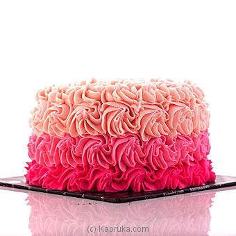 Swirly Rose Ribbon Cake at Kapruka Online for cakes
