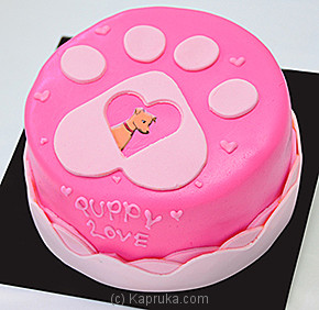 Puppy Love Cake - Embark at Kapruka Online for cakes