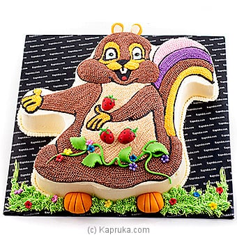 Cheeky Chipmunk In The Strawberry Patch at Kapruka Online for cakes