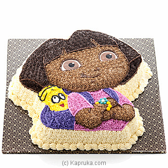 Awesome Dora Cake(GMC) By GMC at Kapruka Online forcakes