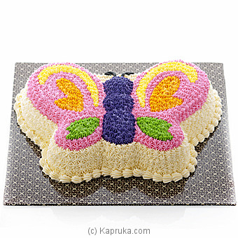 Wings Of Beauty Cake(GMC) By GMC at Kapruka Online forcakes