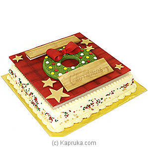Fab Christmas Cake(Shaped Cake) at Kapruka Online for cakes