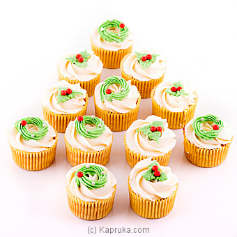 Christmas Delight Cup Cakes at Kapruka Online for cakes