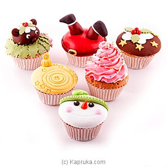 Bread Talk 6 Assorted Cupcakes at Kapruka Online for cakes