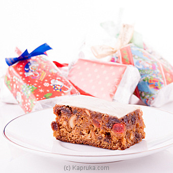 Christmas Fruit Cake 5 Piece Pack(GMC)(Shaped Cake) at Kapruka Online for cakes