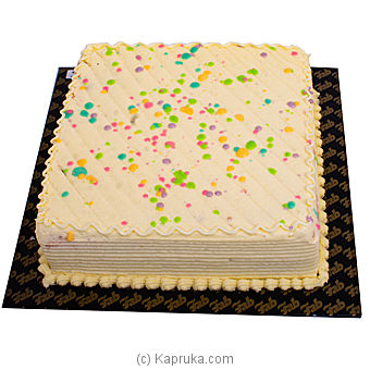 Fab Ribbon Cake-2LB - (SHAPED CAKE) at Kapruka Online for cakes
