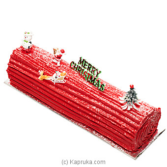 Kingsbury Buche Noel Red Velvet Yule Log at Kapruka Online for cakes