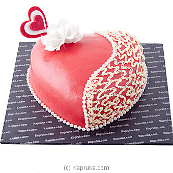 Kapruka Tender Heart Cake at Kapruka Online for cakes