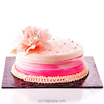 Peony Ribbon Cake at Kapruka Online for cakes