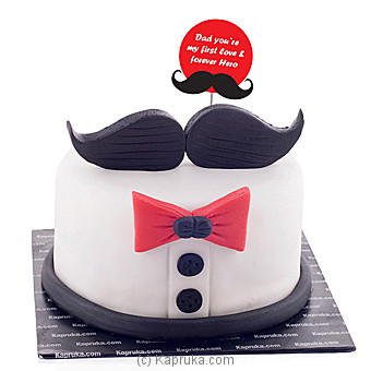 Dad You`re My First Love And Forever Hero at Kapruka Online for cakes