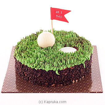 Golf Cake For Dad(GMC)(Shaped Cake) at Kapruka Online for cakes