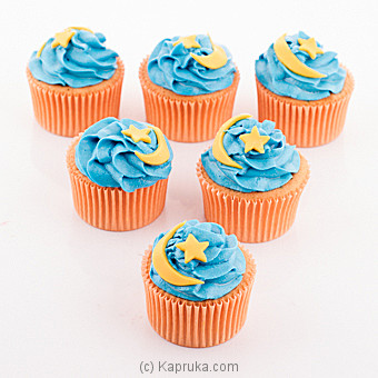 Delicious Eid Cup Cake 6 Piece Pack(Shaped Cake) at Kapruka Online for cakes